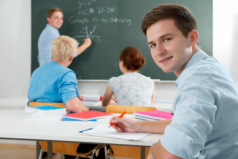 Download Students stock photo. Image of sitting, college, exam - 20877344