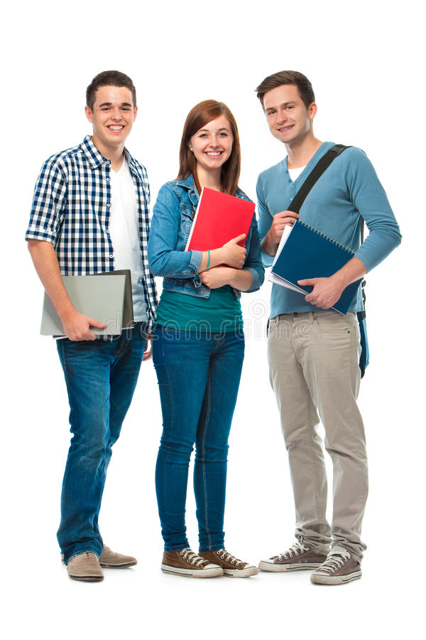 Students royalty free stock images