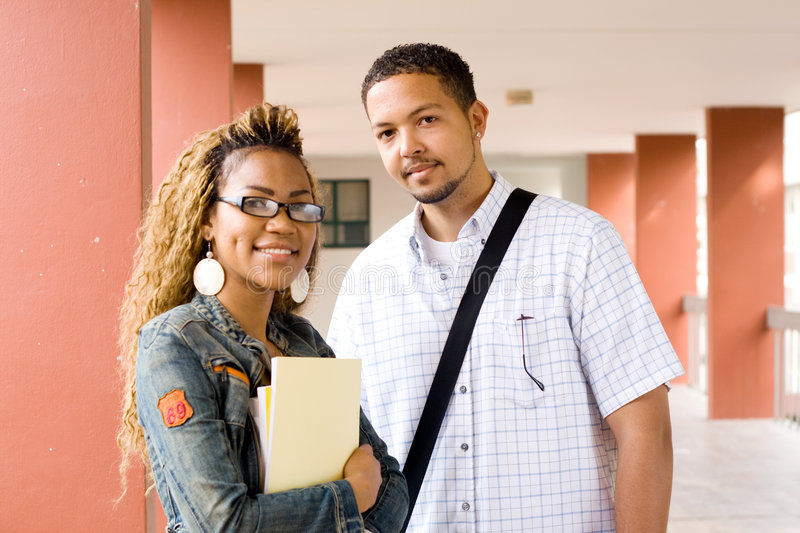 Download Students stock image. Image of boyfriend, couple, college - 6285637