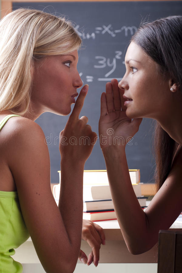 Download Students chatting stock photo. Image of ready, students - 15420108