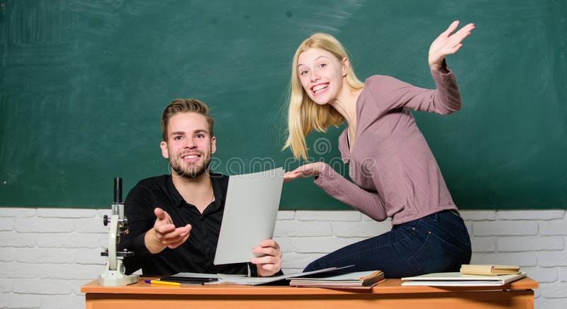 Students in classroom chalkboard background. Education concept. ertificate proves successfully passed university. Entrance exam. College entrance exam. Prepare stock images