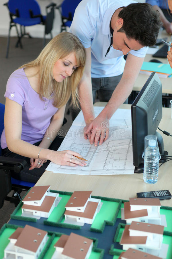 Download Students In Design Course Royalty Free Stock Photos - Image: 13053218