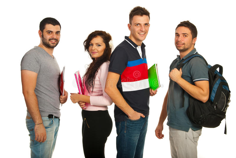 Download Students group stock image. Image of shot, college, attractive - 28277051