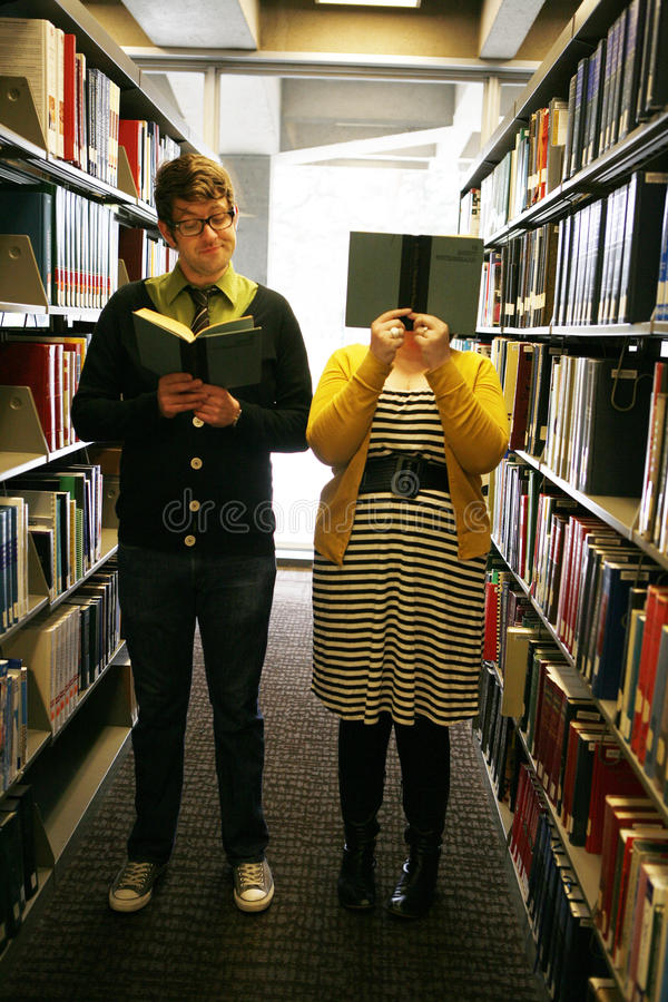 Free Students In Library Stock Photo - 14320970