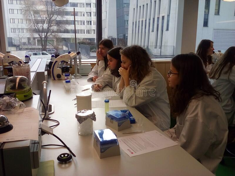 Students In Lab Free Public Domain Cc0 Image