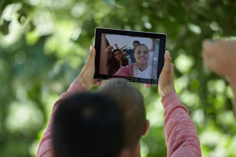 Students selfie stock images
