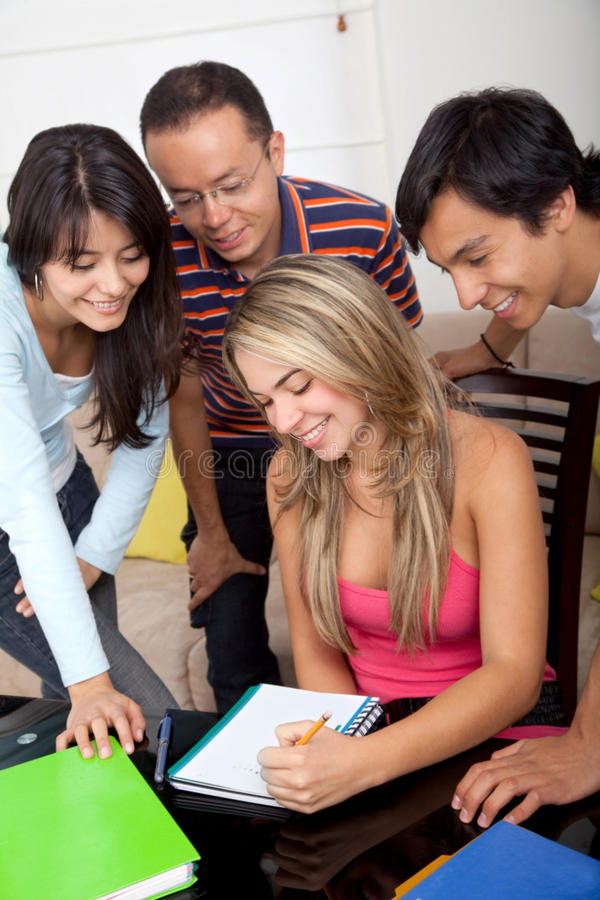 Download Students smiling stock photo. Image of person, happy - 11748364