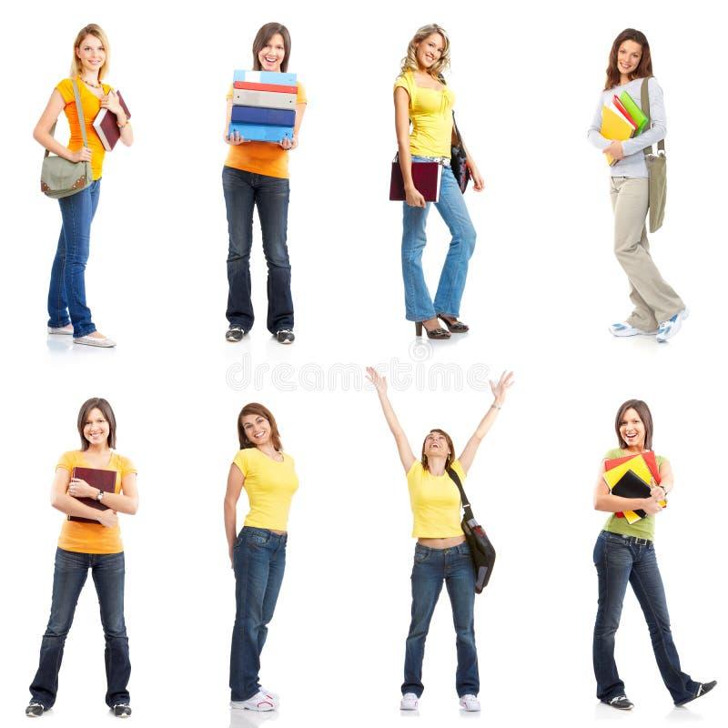 Students women stock image