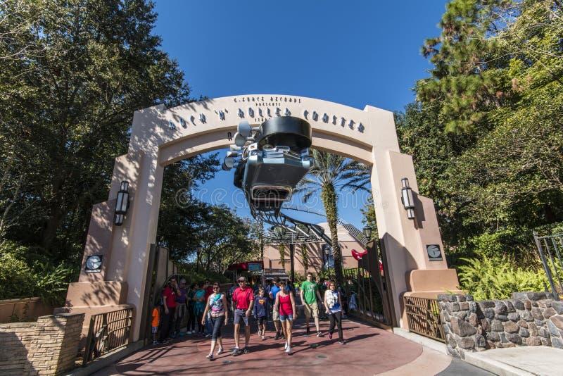 Studi di Hollywood - Walt Disney World - Orlando/FL immagini stock libere da diritti