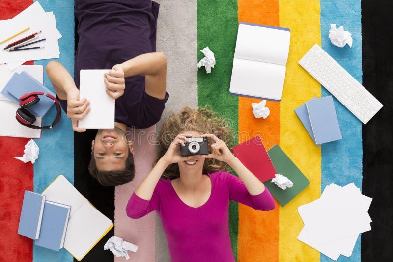 Studi ed altre passioni immagini stock libere da diritti