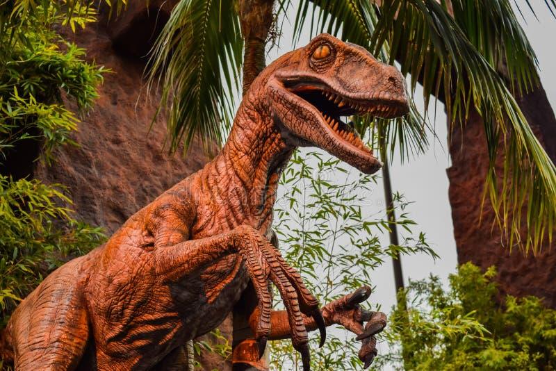 Studi universali di Jurassic Park immagini stock