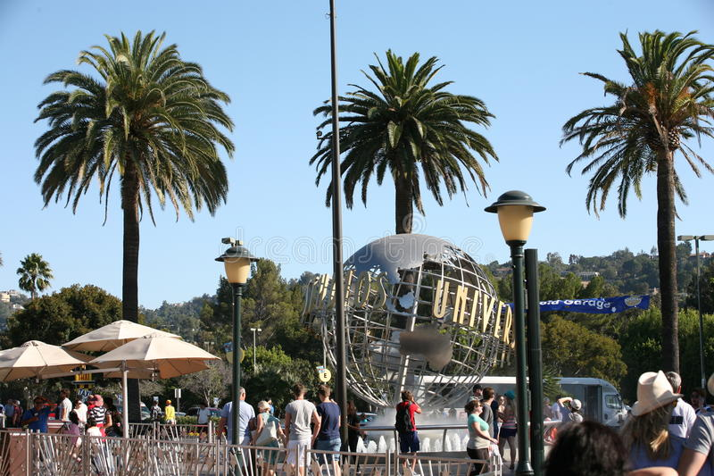 Studi universali Los Angeles immagine stock libera da diritti