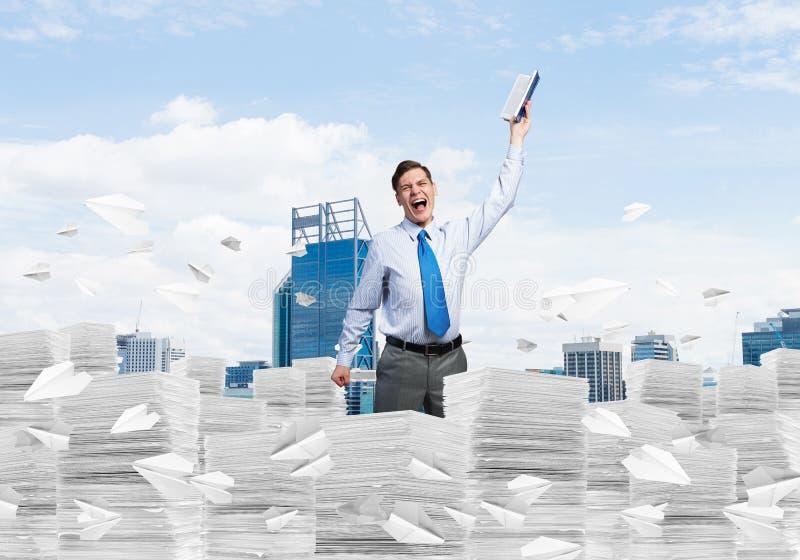 Studie moeilijk succesvolle zakenman te worden stock foto's