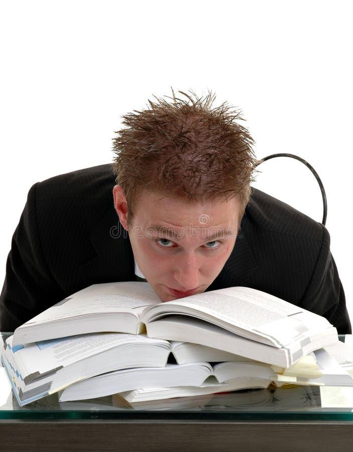 Studien-Langeweile lizenzfreie stockbilder