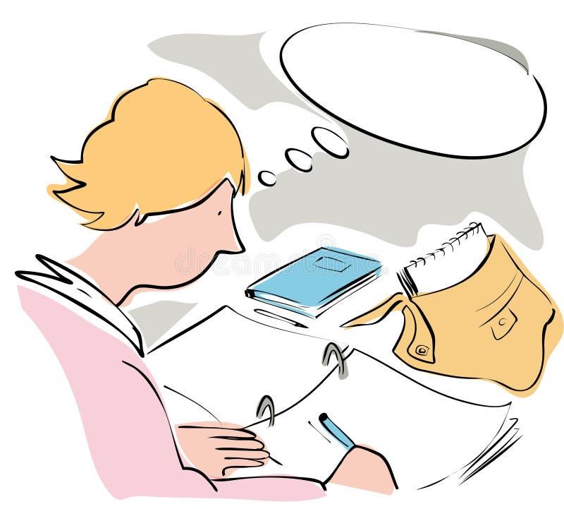 studieren stock abbildung
