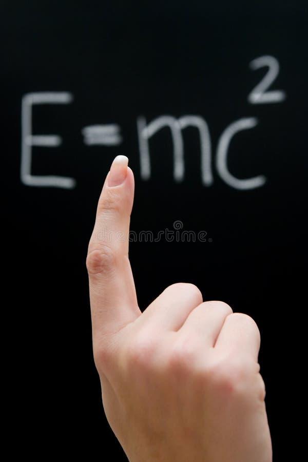 Studieren von Physik lizenzfreie stockfotografie