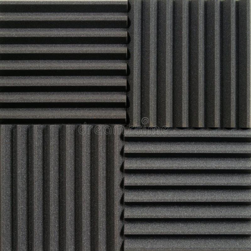 Studio akoestische tegels stock fotografie