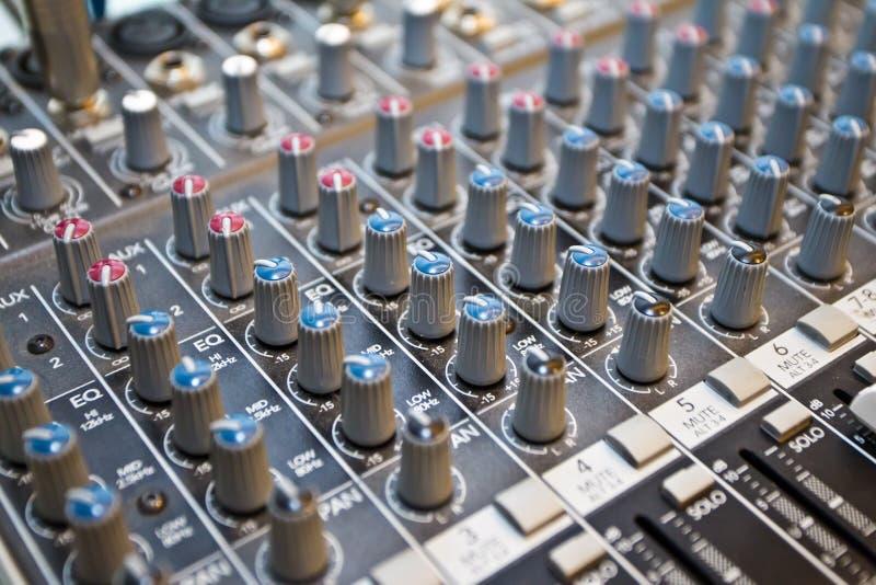 Download Studio audio mixer stock image. Image of level, industry - 22233809