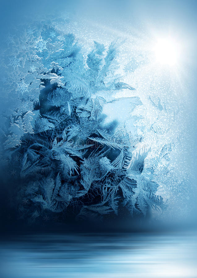 Studio backdrop-12. Studio digital backdop, snowy, blue, abstract, for photo background stock photos