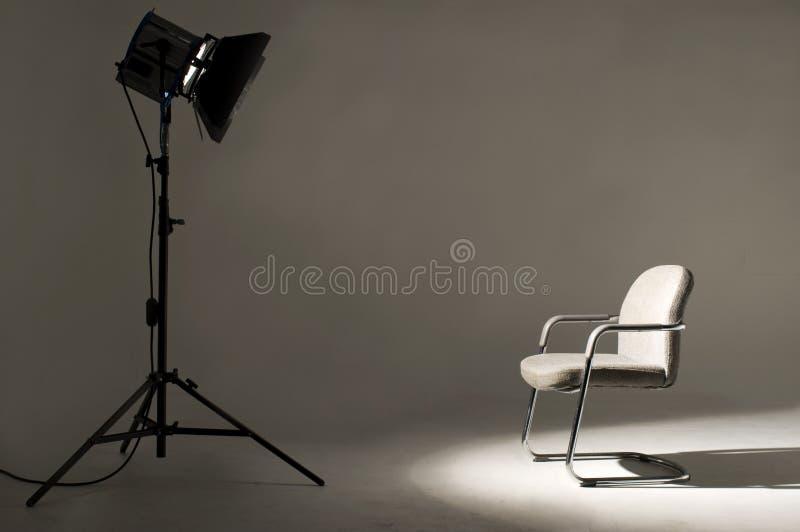 Studio-Beleuchtung. stockbilder