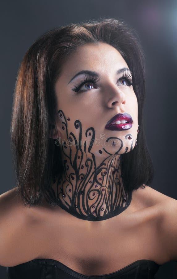 Download Studio Conceptual Female Beauty Portrait Stock Photo - Image: 18257384
