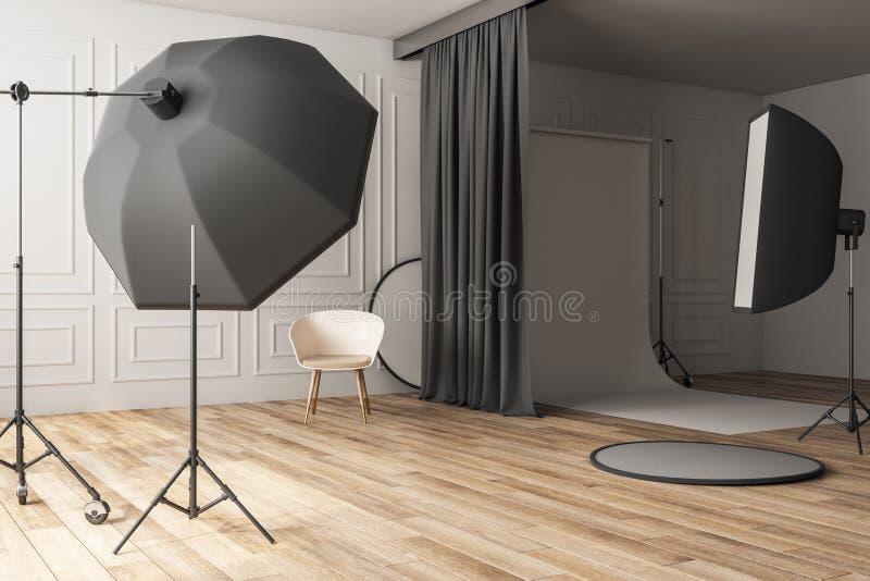 Studio concreto di lusso della foto royalty illustrazione gratis
