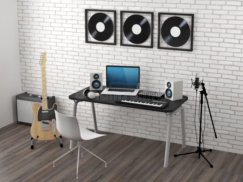 studio d enregistrement maison ventana blog. Black Bedroom Furniture Sets. Home Design Ideas
