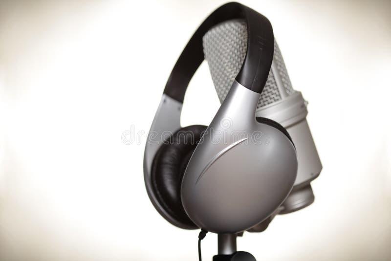 studio d'enregistrement image stock