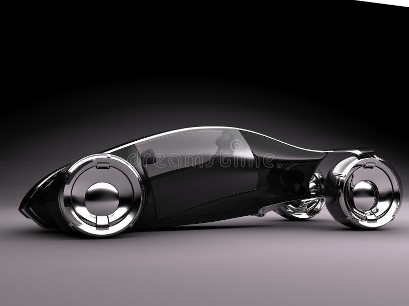 studio d'obscurité de cam2 conceptcar1 illustration de vecteur