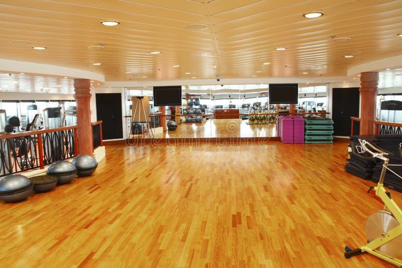 Studio de danse de gymnastique photographie stock