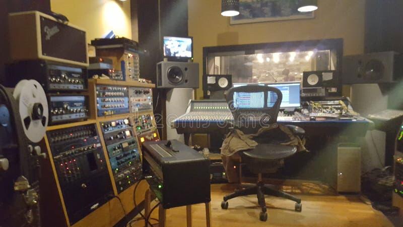 Studio de musique photographie stock libre de droits