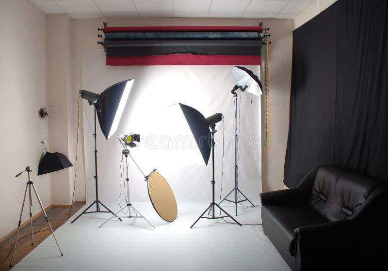 Studio de photo photo stock