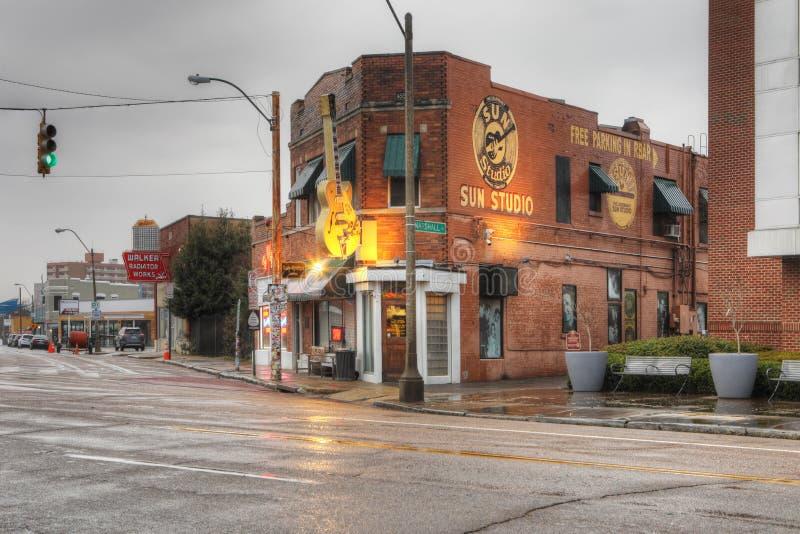 Studio de Sun à Memphis, Tennessee photo stock