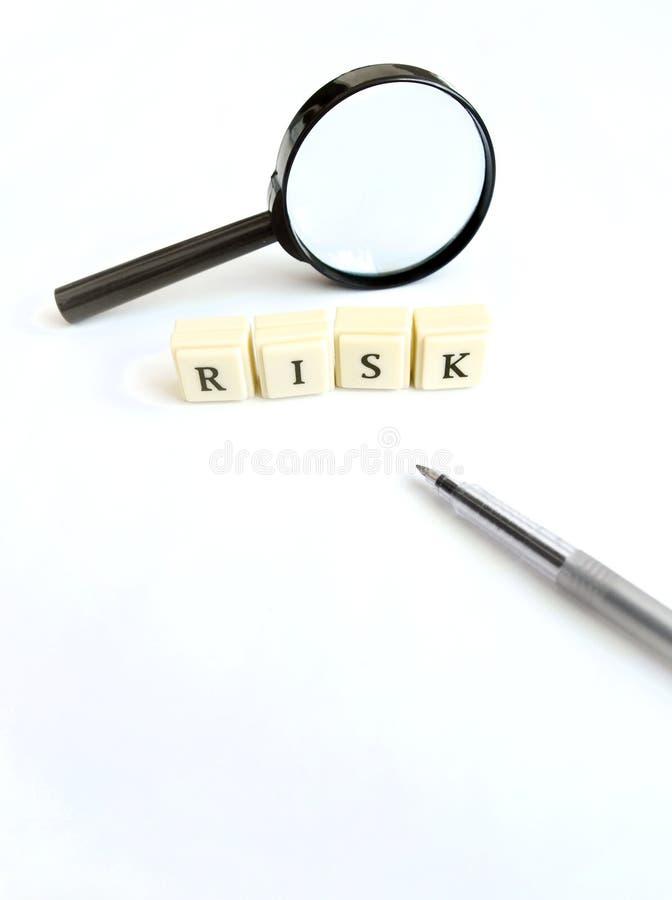 Studio del rischio fotografia stock libera da diritti