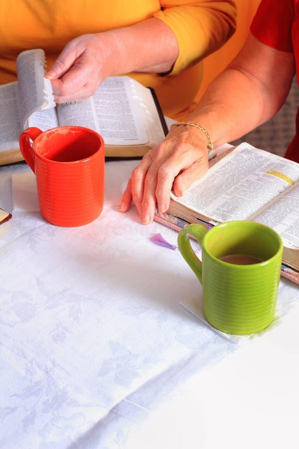 Studio della bibbia fotografie stock libere da diritti