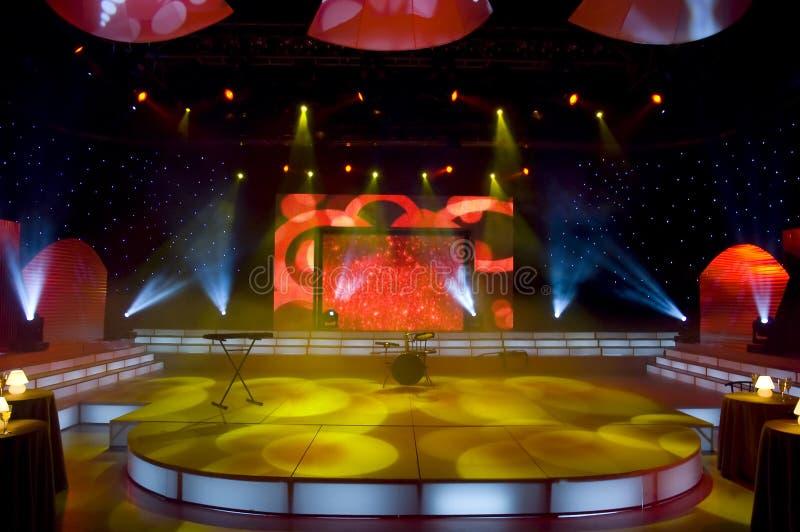 Download Studio della TV immagine stock. Immagine di alto, background - 3889839