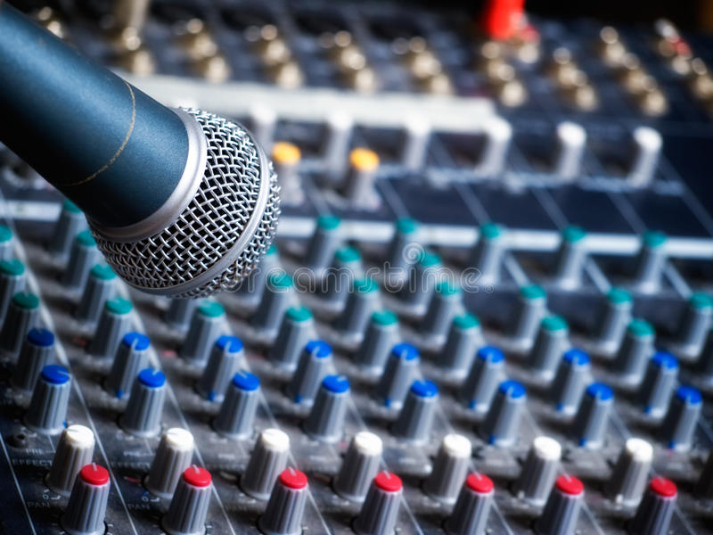 Studio di musica immagine stock libera da diritti