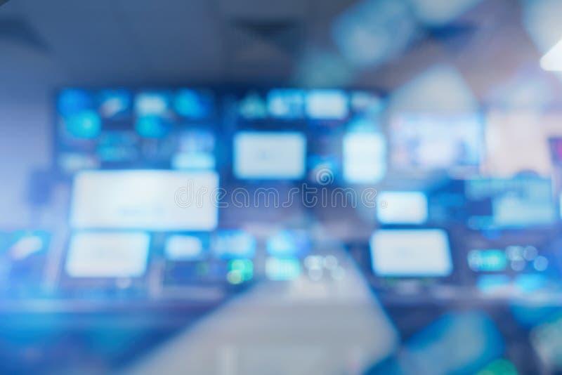Studio di radiodiffusione fotografie stock libere da diritti
