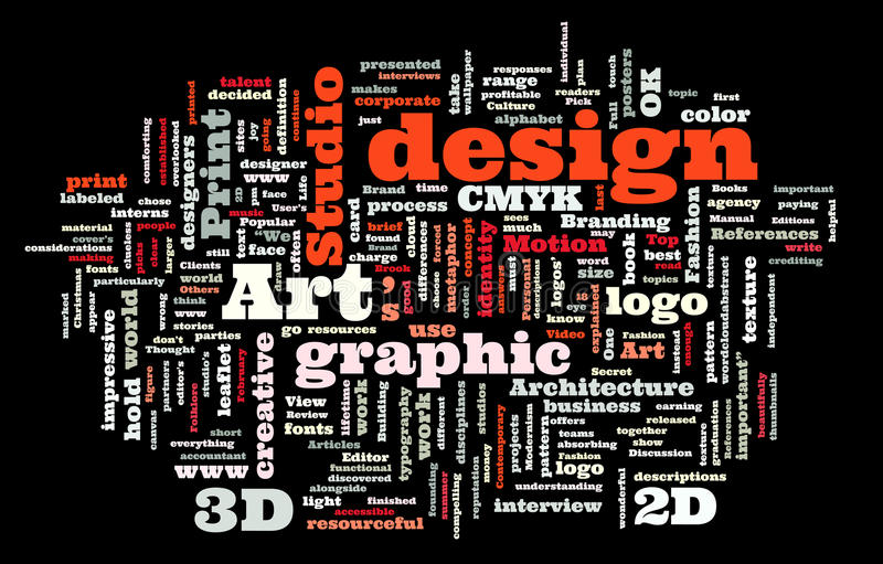 Studio för diagramdesign vektor illustrationer