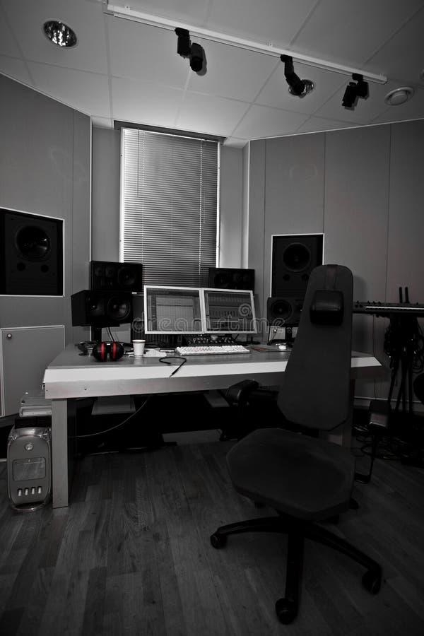 studio för digital registrering arkivbild