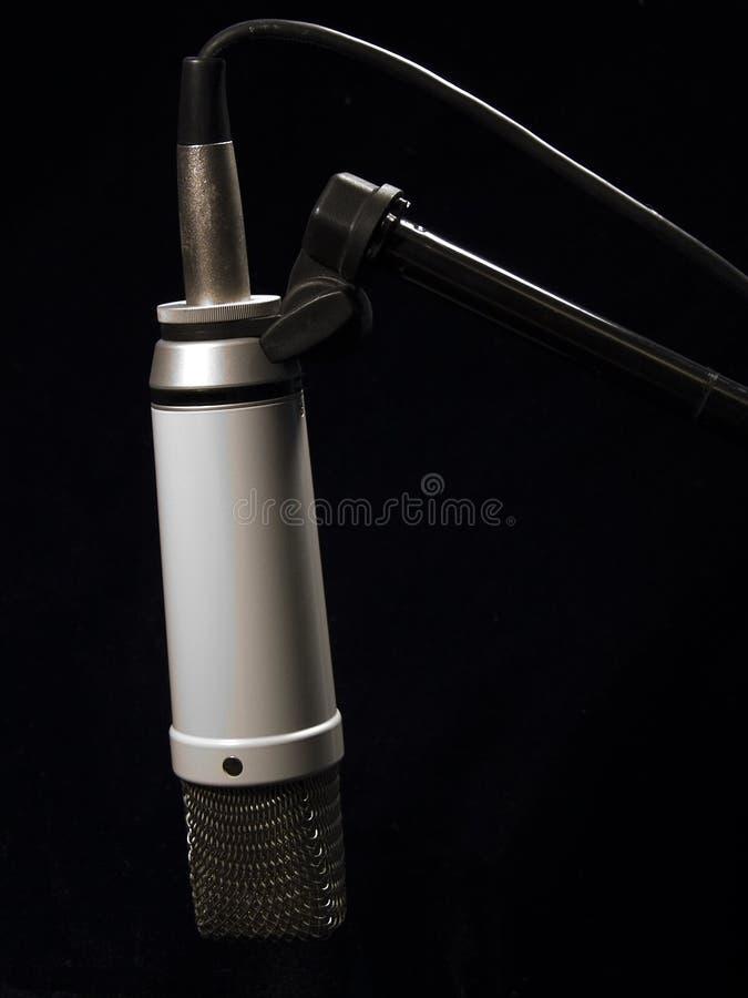 Download Studio för mic-musikstand arkivfoto. Bild av musik, allsång - 27364