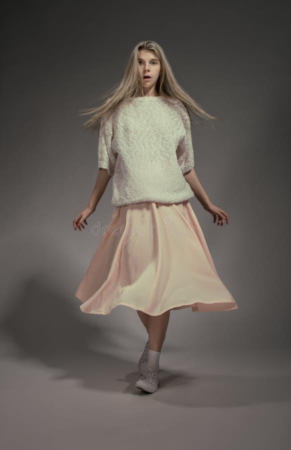studio för modemodell arkivfoto