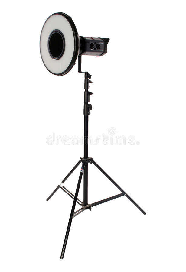 Download Studio Flash On Tripod Stock Photos - Image: 2305553