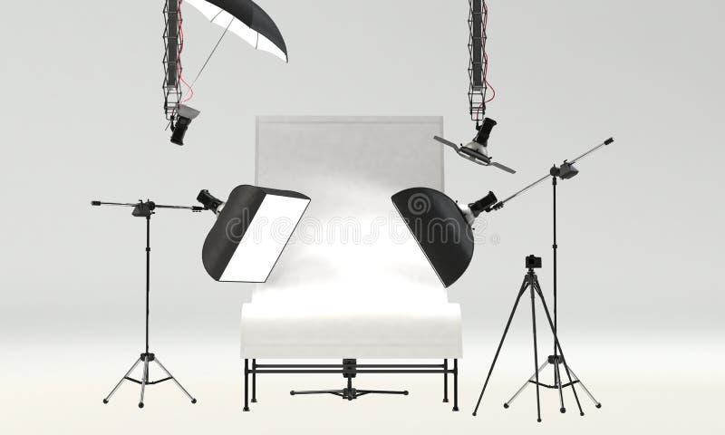 Studio-Installation lizenzfreies stockbild