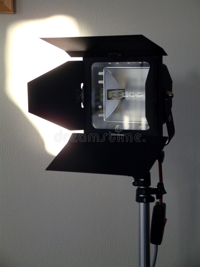 Download Studio-Lampe 2 stockfoto. Bild von studio, leuchte, hell - 44778