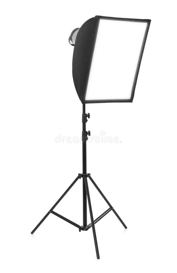 Studio light on white royalty free stock images