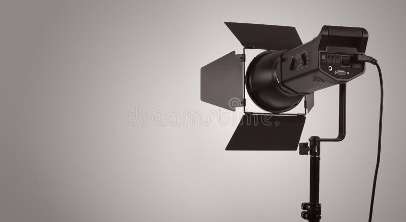 Download Studio lighting stock image. Image of gray, equipment - 23664743