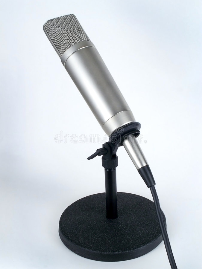 Studio Microphone royalty free stock images