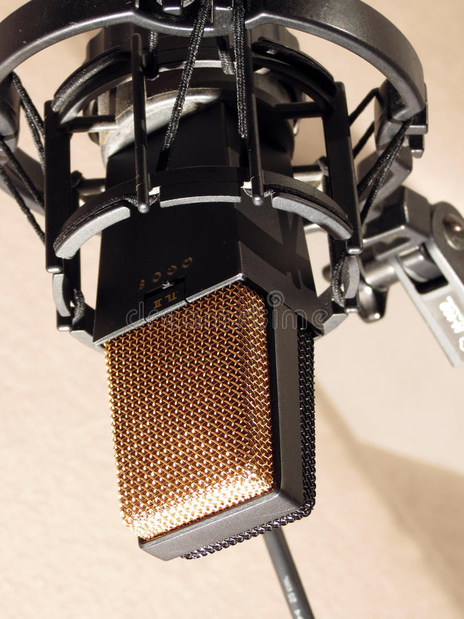 Download Studio microphone stock photo. Image of microphone, stereo - 30888548