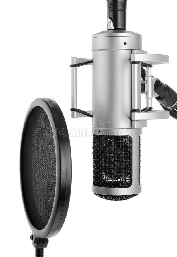 Download Studio Microphone With Pop Filter Stock Images - Image: 15502374